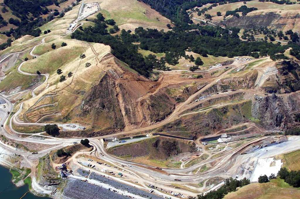 Calaveras Replacement Dam